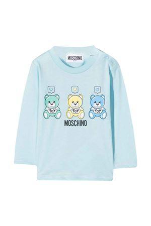 T-shirt azzurra Moschino Kids MOSCHINO KIDS | 8 | M7O000LAA0340304