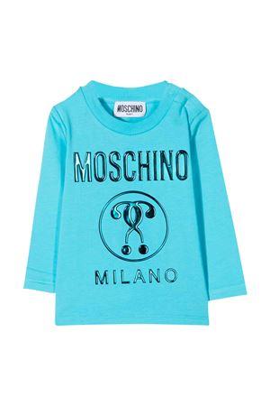 T-shirt azzurra Moschino Kids MOSCHINO KIDS | 8 | M8O000LBA1040522