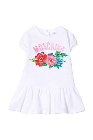 Abito bianco Moschino kids MOSCHINO KIDS | 11 | MBV06ULDA0010101