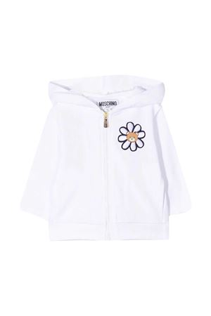 Felpa bianca Moschino Kids MOSCHINO KIDS | 5032280 | MDF027LDA0010101