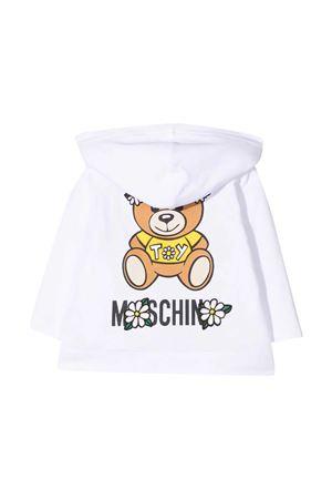 Moschino Kids white sweatshirt  MOSCHINO KIDS | 5032280 | MDF027LDA0010101