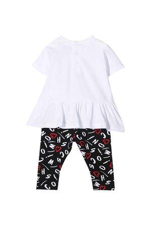 T-shirt bianca e leggins neri Moschino kids MOSCHINO KIDS | 42 | MDG00ELBB6082223