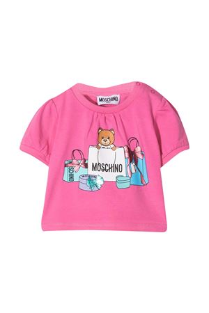 Pink Moschino Kids t-shirt  MOSCHINO KIDS | 8 | MDM02TLBA0050533