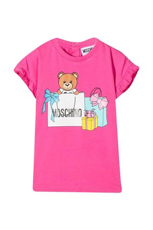 Moschino Kids fuchsia dress  MOSCHINO KIDS | 11 | MDV08SLBA0050533