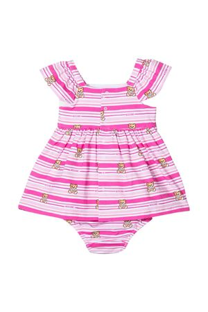 Vestito rosa Teddy Bear Moschino Kids MOSCHINO KIDS | 11 | MDV08TLBB5183237