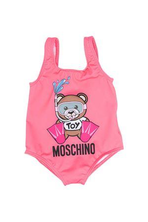 Moschino kids pink swimsuit MOSCHINO KIDS | 85 | MEL00ALKA0051108