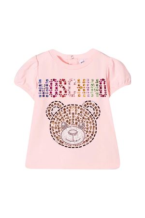 Pink t-shirt Moschino kids  MOSCHINO KIDS   8   MEM02BLBA1050209
