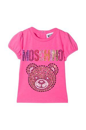 Fuchsia T-shirt Moschino kids  MOSCHINO KIDS   8   MEM02BLBA1050533