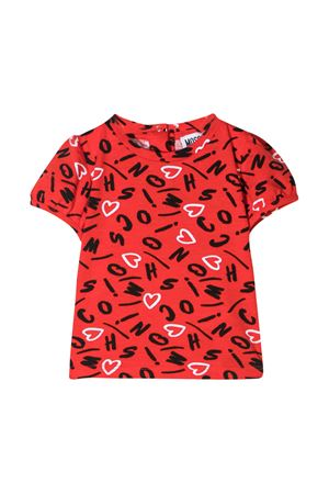 Red Moschino Kids t-shirt  MOSCHINO KIDS | 8 | MFM02BLBB6082221