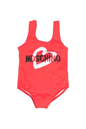 Moschino Kids red swimsuit  MOSCHINO KIDS | 85 | MGL00ALKA0050109