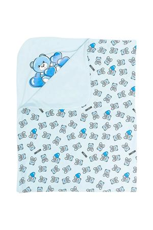Moschino kids reversible light blue blanket  MOSCHINO KIDS | 69164127 | MMB006LAB2282162