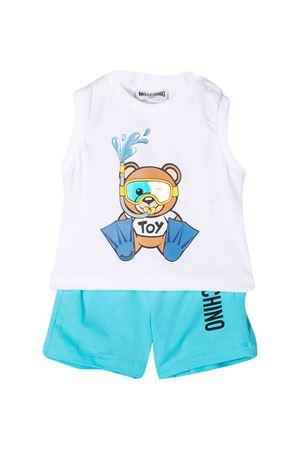 Suit shorts and sleeveless T-shirt Moschino Kids MOSCHINO KIDS | 42 | MMG001LBA0883239