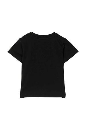 Moschino Kids black t-shirt  MOSCHINO KIDS | 8 | MMM02GLAA1860100