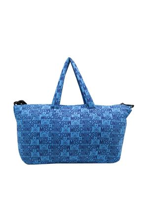 Borsa fasciatoio blu Moschino Kids MOSCHINO KIDS | 31 | MMX03ALDB4985556