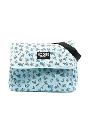 Moschino Kids light blue changing bag  MOSCHINO KIDS | 31 | MMX03DLDB5082162