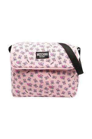 Moschino Kids pink changing bag  MOSCHINO KIDS | 31 | MMX03DLDB5083343