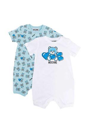 Set tutine azzurre Moschino Kids MOSCHINO KIDS | 75988882 | MMY02PLAB2282162