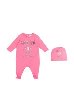 Set rosa Moschino Kids con tutina e berretto MOSCHINO KIDS | 75988882 | MMY02TLBA1051108