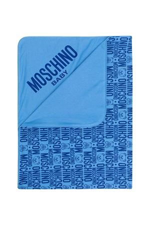 Moschino Kids blue blanket  MOSCHINO KIDS | 69164127 | MNB006LAB2585556