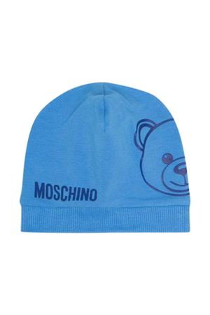 Moschino Kids light blue hat  MOSCHINO KIDS | 75988881 | MNX035LBA0040320