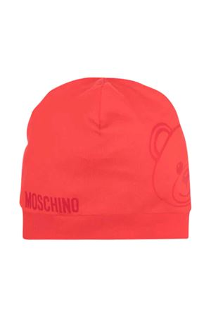 Red Moschino Kids cap  MOSCHINO KIDS | 75988881 | MNX035LBA0050109