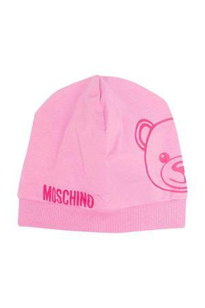 Pink Moschino Kids cap  MOSCHINO KIDS | 75988881 | MNX035LBA0050243
