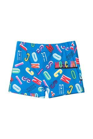 Moschino Kids light blue swimsuit  MOSCHINO KIDS | 85 | MPL006LKA0084218