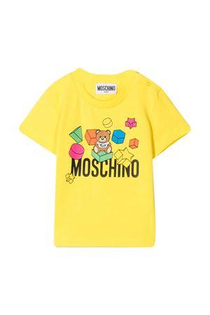 Moschino kids yellow t-shirt MOSCHINO KIDS | 8 | MRM02ALBA0850162