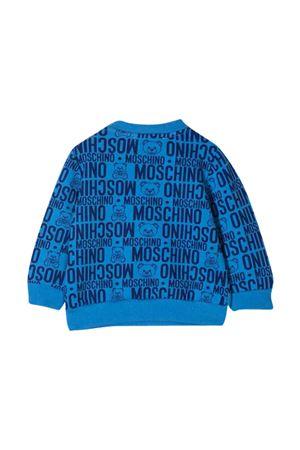 Maglia blu Moschino Kids MOSCHINO KIDS | 1169408113 | MTF03ELDB4985556