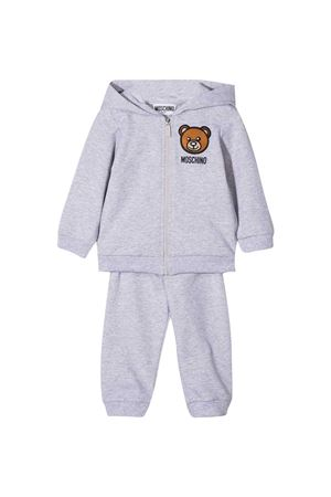 Moschino Kids gray jumpsuit  MOSCHINO KIDS | 42 | MTK00GLDA0060926