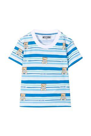 Moschino Kids striped T-shirt  MOSCHINO KIDS | 8 | MTM02ALBB5182681
