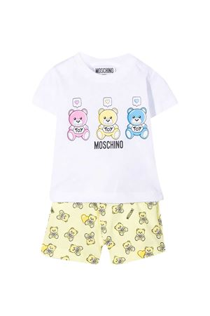 Moschino Kids white t-shirt  MOSCHINO KIDS | 42 | MUG00DLAB2285009