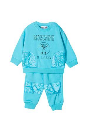 Tuta azzurra Moschino Kids MOSCHINO KIDS | 42 | MUK033LDA2540522