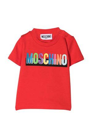 Moschino Kids red t-shirt  MOSCHINO KIDS | 8 | MUM02GLBA2050109