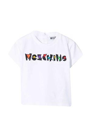 T-shirt bianca Moschino Kids MOSCHINO KIDS | 8 | MUM02HLBA1810101