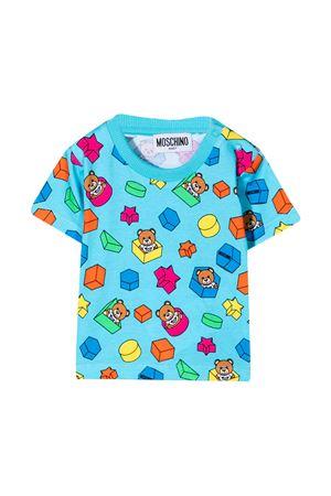 Moschino Kids light blue t-shirt  MOSCHINO KIDS | 8 | MUM02JLBB5385837