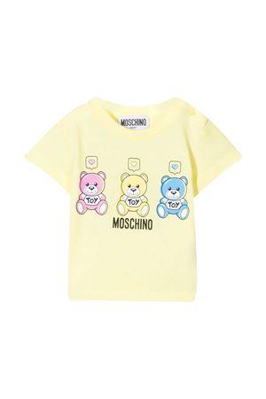 T-shirt gialla Moschino Kids MOSCHINO KIDS | 8 | MUM02KLAA0350702