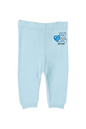 Moschino Kids light blue trousers MOSCHINO KIDS | 9 | MUP03MLHE1340304