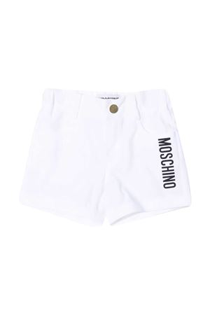 Moschino Kids white shorts  MOSCHINO KIDS | 30 | MUQ00LLMA0010101