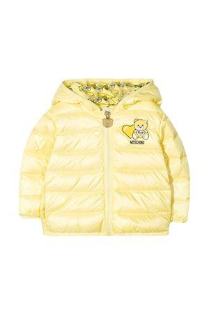 Moschino Kids yellow down jacket  MOSCHINO KIDS | 13 | MUS01VL3A3250702