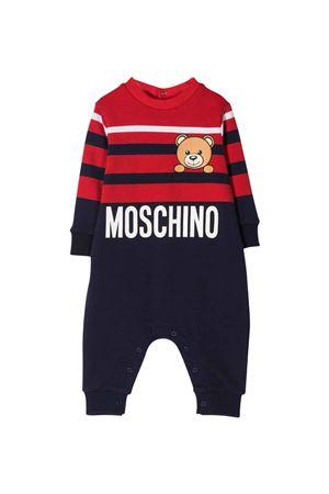 Tutina a righe Moschino Kids MOSCHINO KIDS | 1491434083 | MUT01ZLDA2583403