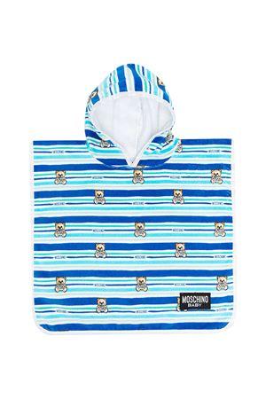 Accappatoio azzurro blu Moschino Kids MOSCHINO KIDS | 44 | MUX03ELGA1082681