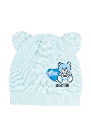 Berretto azzurro Moschino Kids MOSCHINO KIDS | 75988881 | MUX03FLHE1340304