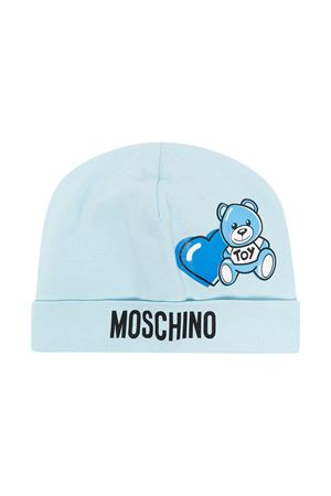 Moschino Kids light blue cap  MOSCHINO KIDS | 75988881 | MUX03GLBA0040304