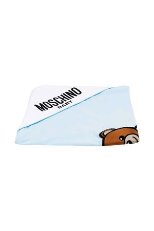 Coperta azzurra Moschino Kids MOSCHINO KIDS | 69164127 | MUX03LLBA1040304