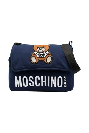 Moschino Kids blue changing bag  MOSCHINO KIDS | 31 | MUX03MLDA0040016