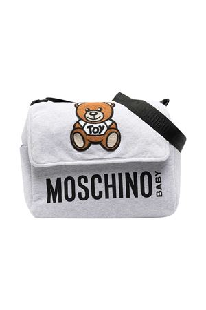 Moschino Kids gray changing bag MOSCHINO KIDS | 31 | MUX03MLDA0060926