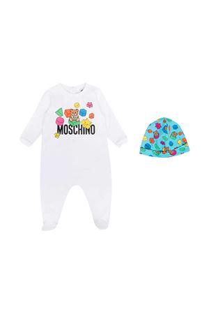 Tutina bianca Moschino Kids MOSCHINO KIDS | 75988882 | MUY038LDA1210101