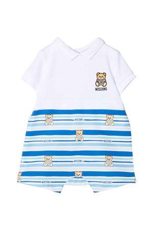 Moschino Kids short romper  MOSCHINO KIDS | 1491434083 | MUY039LFA0182681