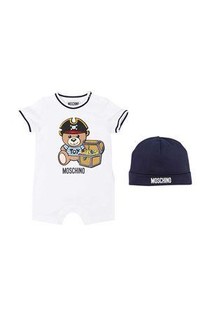 Tutina bianca Moschino Kids MOSCHINO KIDS | 75988882 | MUY03ALBA0810101